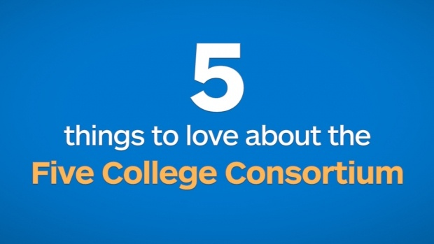 5 things to love about the Five College Consortium